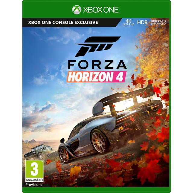 Xbox One X 1TB with Digital Download Codes for Forza Horizon 4 and Forza  Motorsport 7 - Black