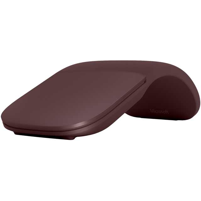 Microsoft Surface Arc CZV-00012 Mouse - Burgundy - CZV-00012 - 1