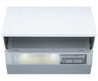 NEFF D2664X0GB Integrated Cooker Hood in Silver