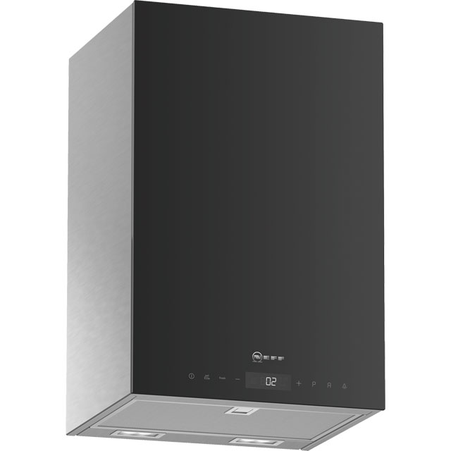 NEFF N90 D35KHV2S0B Wifi Connected 33 cm Chimney Cooker Hood - Black - N/A Rated - D35KHV2S0B_BK - 1
