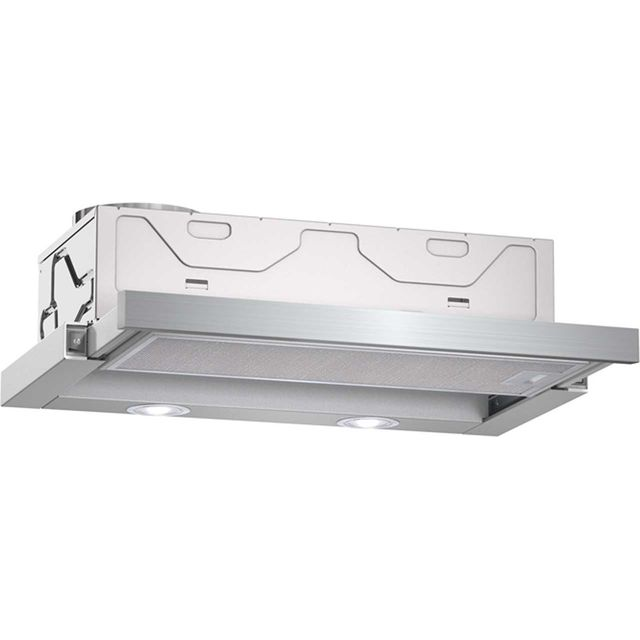 NEFF N30 D46BR22N0B 60 cm Telescopic Cooker Hood - Metallic - C Rated