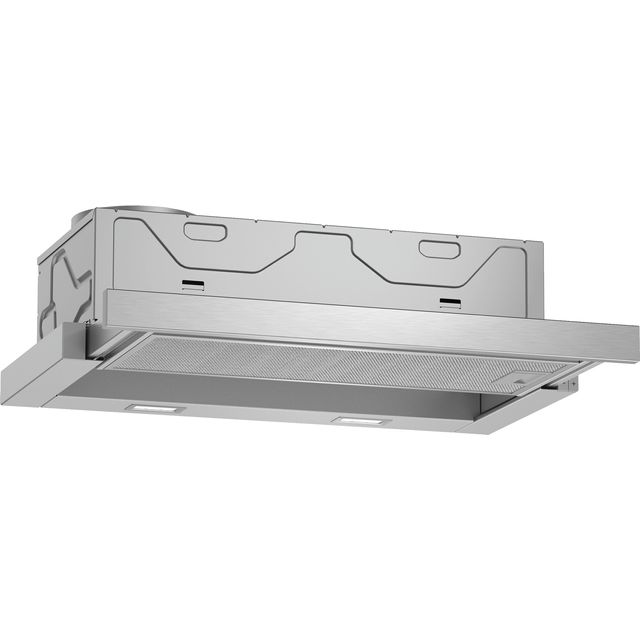 NEFF N50 D46ED22N0B Built In Integrated Cooker Hood - Stainless Steel - D46ED22N0B_SS - 1