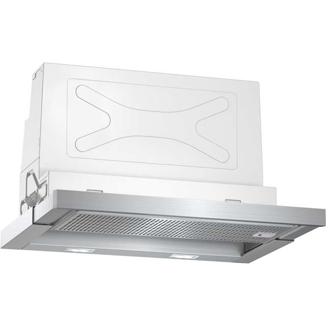 NEFF N70 D46ML54N0B 60 cm Telescopic Cooker Hood - Stainless Steel - A Rated - D46ML54N0B_SS - 1