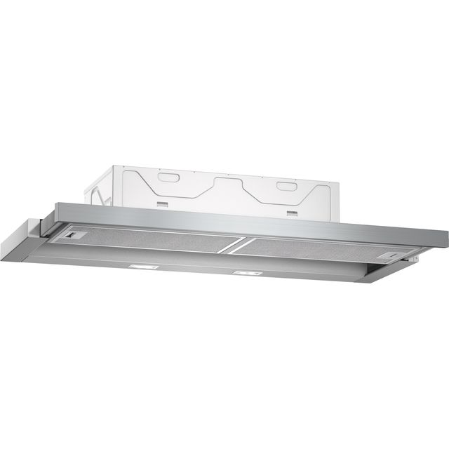 NEFF N50 90 cm Telescopic Cooker Hood - Silver Grey - A Rated