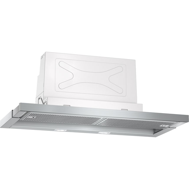 NEFF N70 D49ML54N0B 90 cm Telescopic Cooker Hood - Stainless Steel - A Rated - D49ML54N0B_SS - 1