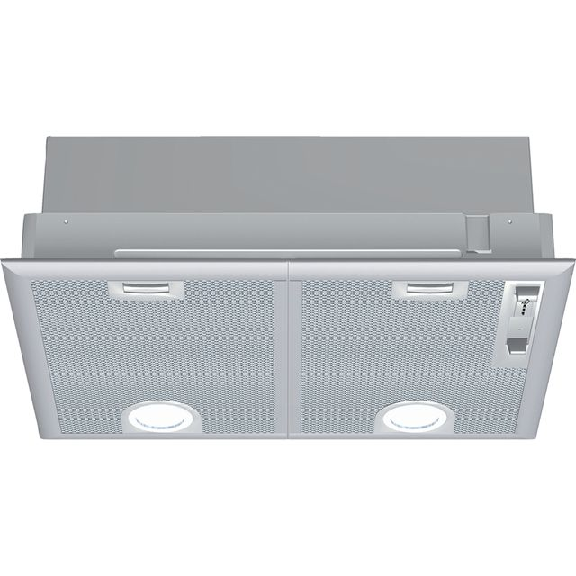 NEFF N30 D5655X1GB Built In Canopy Cooker Hood - Silver - D5655X1GB_SI - 1