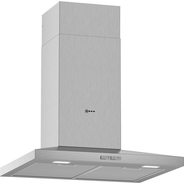 NEFF N30 D62QBC0N0B 60 cm Chimney Cooker Hood - Stainless Steel - D Rated - D62QBC0N0B_SS - 1