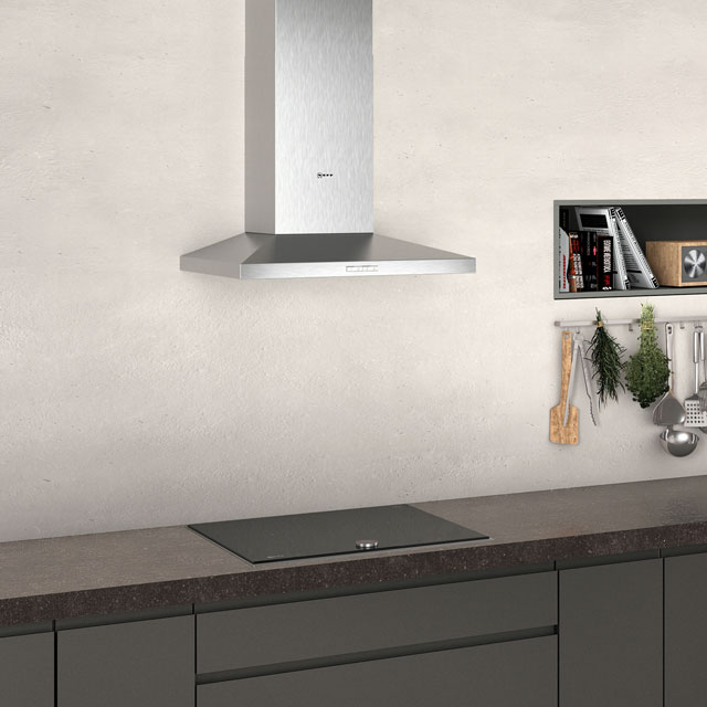 NEFF N30 D62QBC0N0B Built In Chimney Cooker Hood - Stainless Steel - D62QBC0N0B_SS - 4
