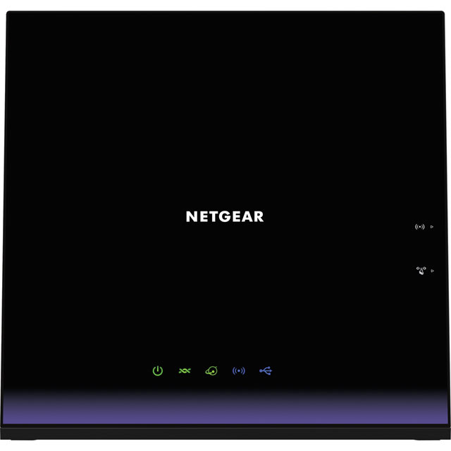 Netgear D6400 D6400-100UKS Routers & Networking in Black