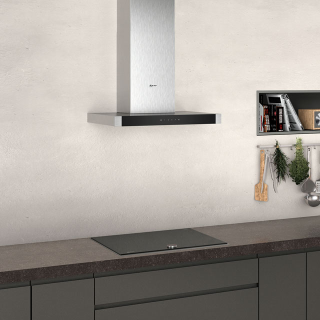 NEFF N50 D64BHM1N0B Built In Chimney Cooker Hood - Stainless Steel - D64BHM1N0B_SS - 4