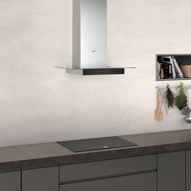 NEFF N50 D64GFM1N0B Built In Chimney Cooker Hood - Stainless Steel - D64GFM1N0B_SS - 4