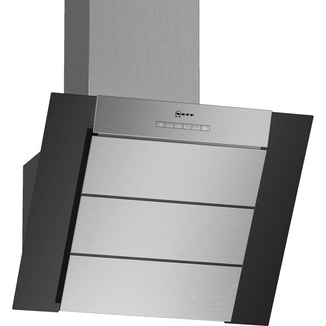 NEFF N50 60 cm Chimney Cooker Hood - Black - A Rated
