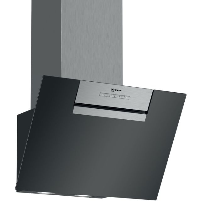 NEFF N30 D65IEE1S0B Built In Chimney Cooker Hood - Black - D65IEE1S0B_BK - 1