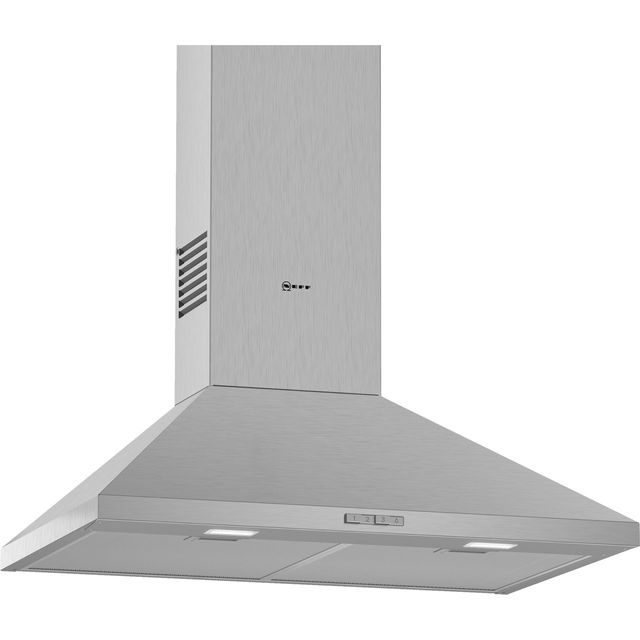 NEFF N30 D72PBC0N0B 75 cm Chimney Cooker Hood - Stainless Steel - D Rated - D72PBC0N0B_SS - 1