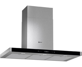 NEFF N90 D79MT62N1B 90 cm Chimney Cooker Hood - Stainless Steel - A+ Rated - D79MT62N1B_SS - 1