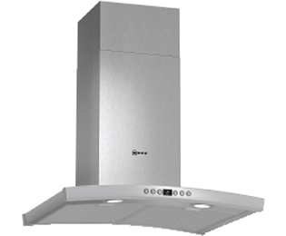 NEFF 60 cm Chimney Cooker Hood - Stainless Steel - B Rated