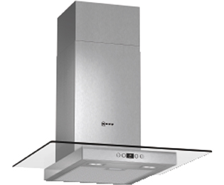 Neff D86EH52N0B 60 cm Chimney Cooker Hood - Stainless Steel / Glass
