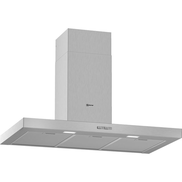 NEFF N30 D92BBC0N0B Built In Chimney Cooker Hood - Stainless Steel - D92BBC0N0B_SS - 1
