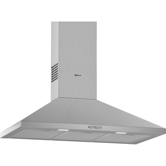 NEFF N30 D92PBC0N0B Built In Chimney Cooker Hood - Stainless Steel - D92PBC0N0B_SS - 1