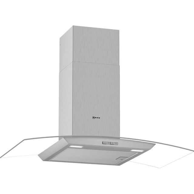 NEFF N30 D94ABC0N0B 90 cm Chimney Cooker Hood - Stainless Steel - A Rated - D94ABC0N0B_SS - 1