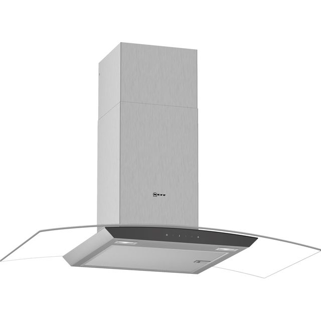 NEFF N50 D94AFM1N0B 90 cm Chimney Cooker Hood - Stainless Steel - A Rated