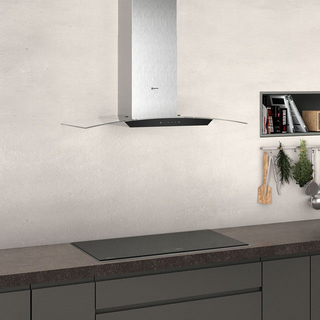 NEFF N50 D94AFM1N0B 90 cm Chimney Cooker Hood - Stainless Steel - D94AFM1N0B_SS - 3