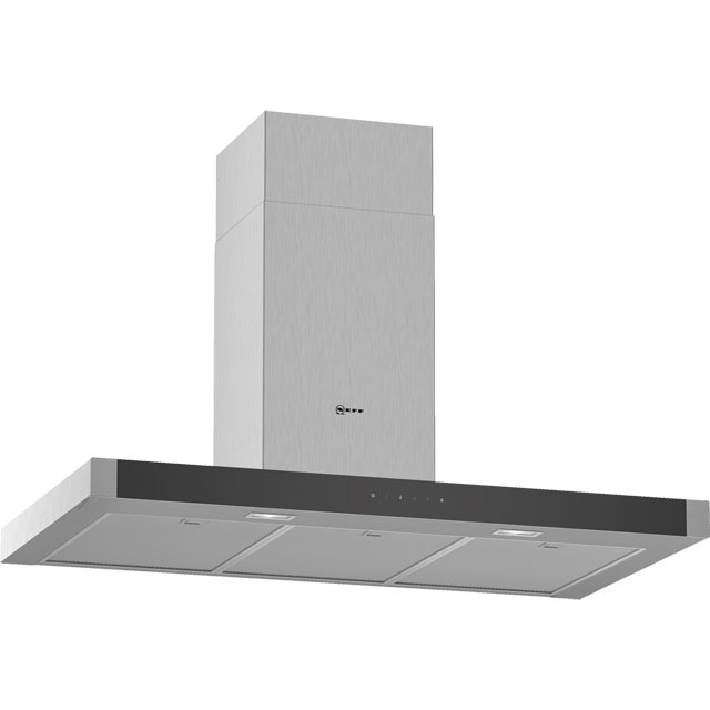 NEFF N50 D94BHM1N0B 90 cm Chimney Cooker Hood - Stainless Steel - A Rated