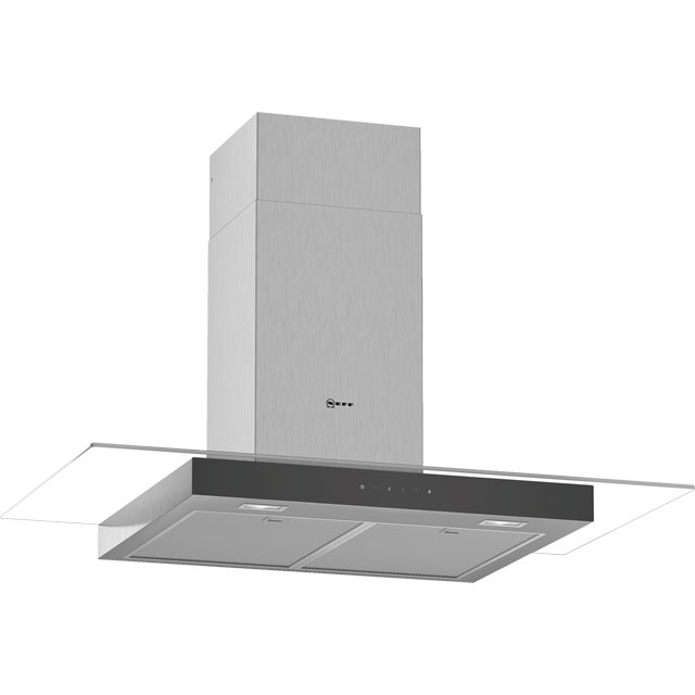 NEFF N50 D94GFM1N0B 90 cm Chimney Cooker Hood - Stainless Steel - A Rated