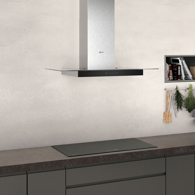 NEFF N50 D94GFM1N0B Built In Chimney Cooker Hood - Stainless Steel - D94GFM1N0B_SS - 3