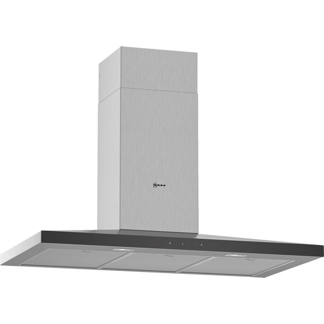 NEFF N50 D94QFM1N0B Built In Chimney Cooker Hood - Stainless Steel - D94QFM1N0B_SS - 1