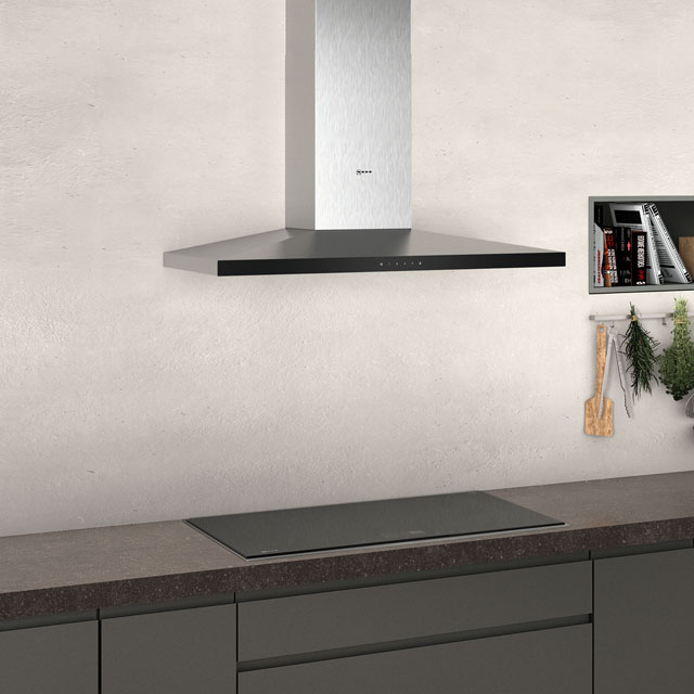 NEFF N50 D94QFM1N0B Built In Chimney Cooker Hood - Stainless Steel - D94QFM1N0B_SS - 3