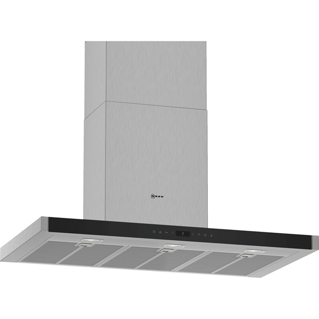 NEFF N70 D95BMP5N0B Built In Chimney Cooker Hood - Stainless Steel - D95BMP5N0B_SS - 1