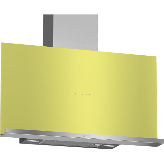 NEFF N70 D95FRM1G0B Wifi Connected 89 cm Chimney Cooker Hood - Green - A Rated - D95FRM1G0B_GR - 1