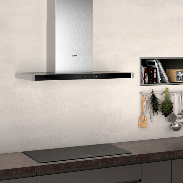 NEFF N90 D96BMV5N5B Built In Chimney Cooker Hood - Stainless Steel - D96BMV5N5B_SS - 5