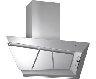 NEFF D99L20N0GB 100 cm Chimney Cooker Hood - Stainless Steel - A Rated - D99L20N0GB_SS - 1