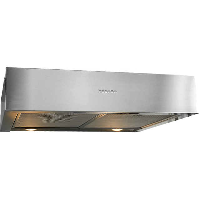Miele DA1260 60 cm Canopy Cooker Hood - Clean Steel - C Rated - DA1260_CS - 1