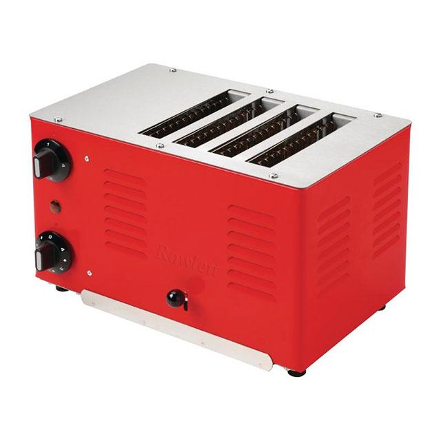 Rowlett Regent DA223 4 Slice Commercial Toaster - Red