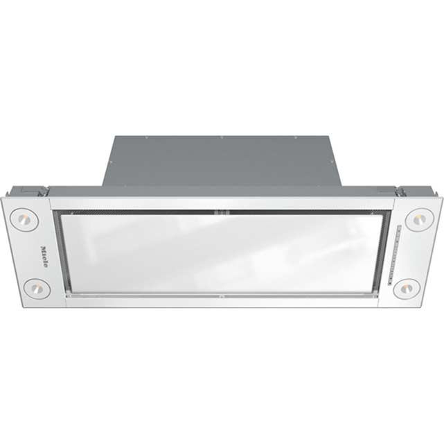 Miele DA2690 90 cm Integrated Cooker Hood - White - A+ Rated