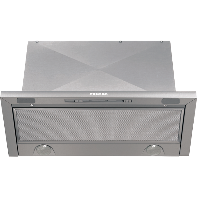 Miele DA3366 60 cm Canopy Cooker Hood - Stainless Steel - C Rated - DA3366_SS - 1