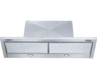 Miele DA3496 90 cm Canopy Cooker Hood - Stainless Steel