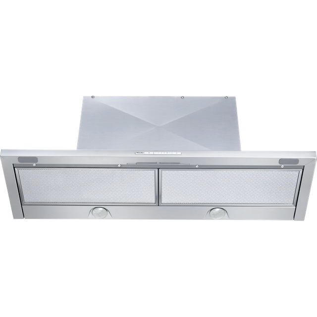 Miele DA3496 89 cm Canopy Cooker Hood - Stainless Steel - B Rated - DA3496_SS - 1