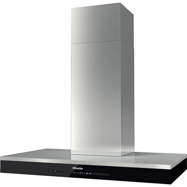 Miele 90 cm Chimney Cooker Hood - Clean Steel - A++ Rated