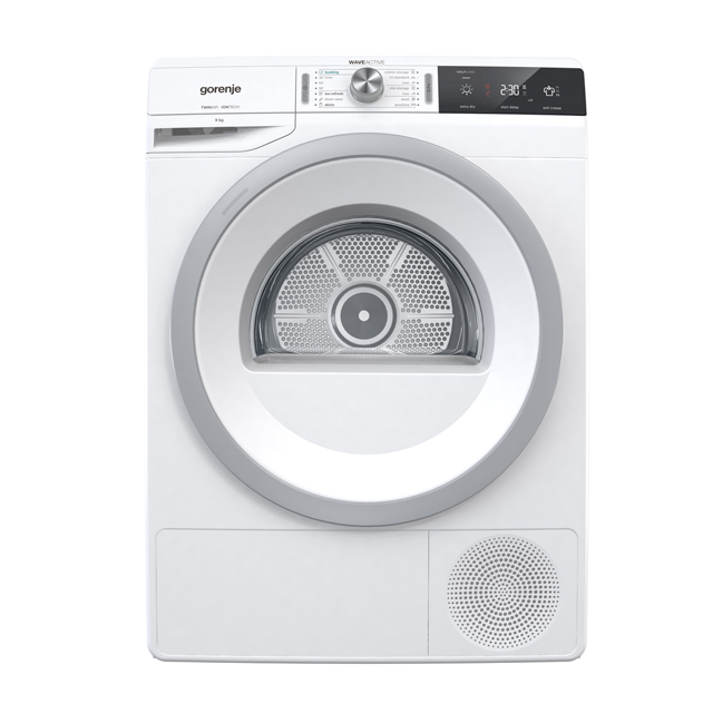 Gorenje WaveActive DA92IL 9Kg Heat Pump Tumble Dryer - White - A++ Rated