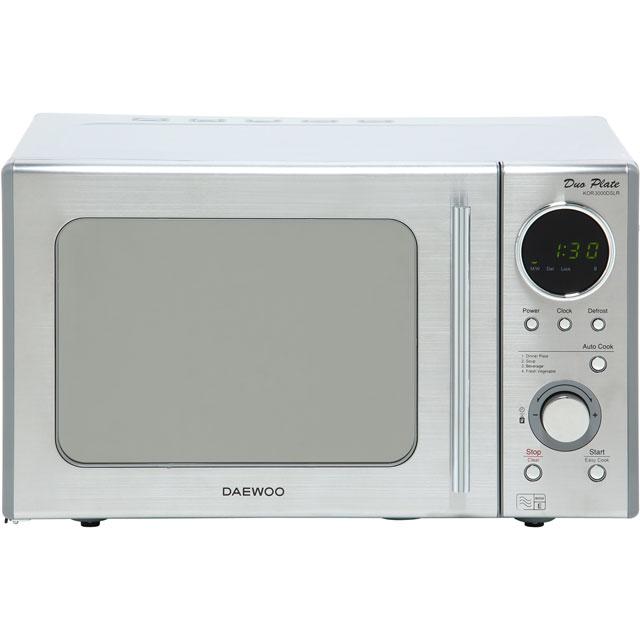 Daewoo Microwaves KOR3000DSLR Free Standing Microwave Oven in Stainless Steel