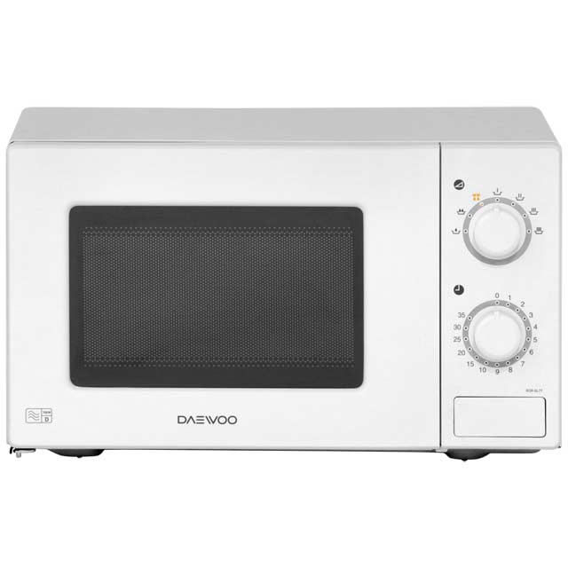 Daewoo KOR6L77 Free Standing Microwave Oven in White