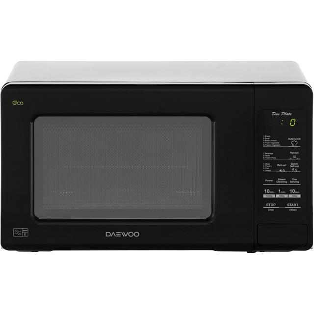 Daewoo Microwaves KOR6M1RDBKR Free Standing Microwave Oven in Black