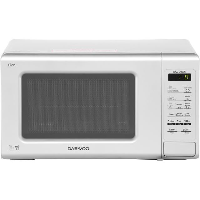Daewoo Microwaves KOR6M1RDSLR Free Standing Microwave Oven in Silver