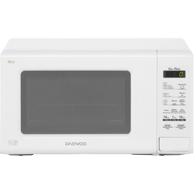 Daewoo Microwaves KOR6M1RDWR Free Standing Microwave Oven in White