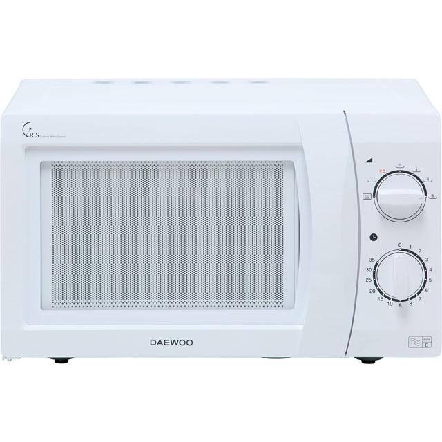 Daewoo Microwaves KOR6N35SR Free Standing Microwave Oven in White