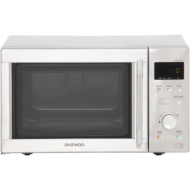 Daewoo Microwaves KOR6N7RSR Free Standing Microwave Oven in Stainless Steel